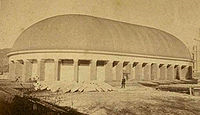 Tabernacle in the 1870s.