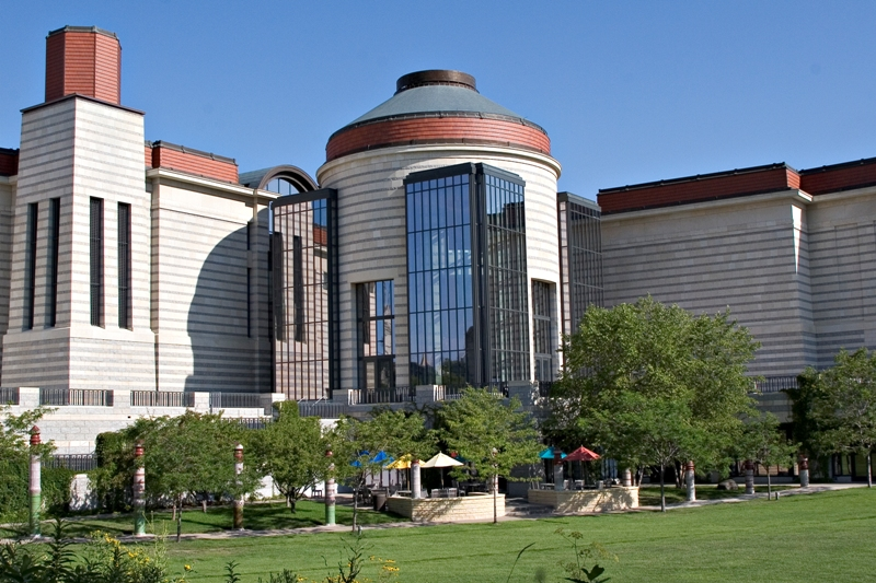 The Center holds a research library as well as permanent and rotating exhibits. The Center also sponsors free lectures and special events.