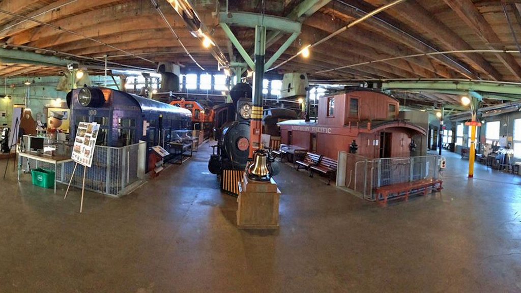 Visitors can go back in time and tour the historic Jackson Street Roundhouse as well as see a variety of railcars, buses, and depots.