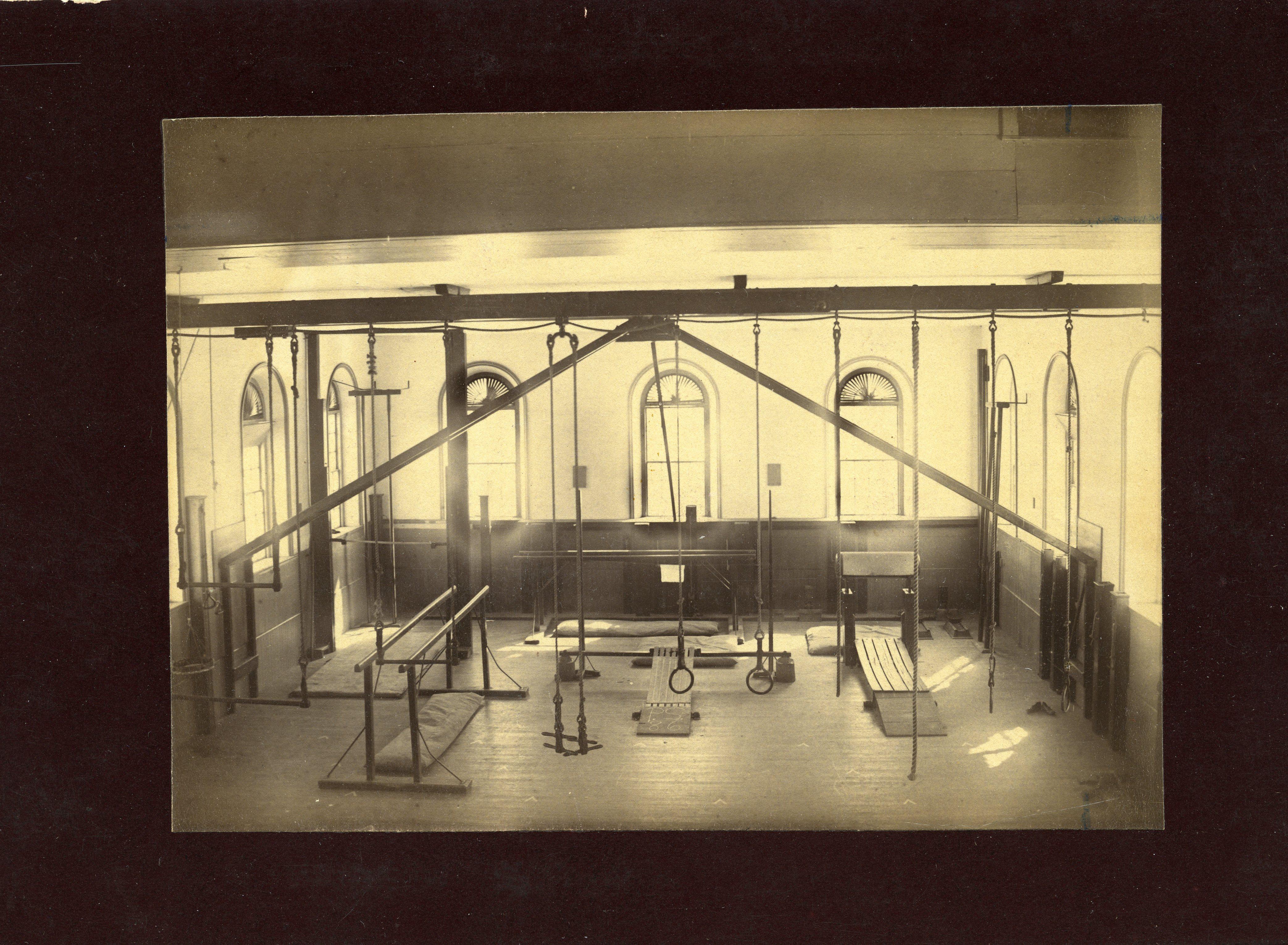 Bulfinch Hall, gymnasium
