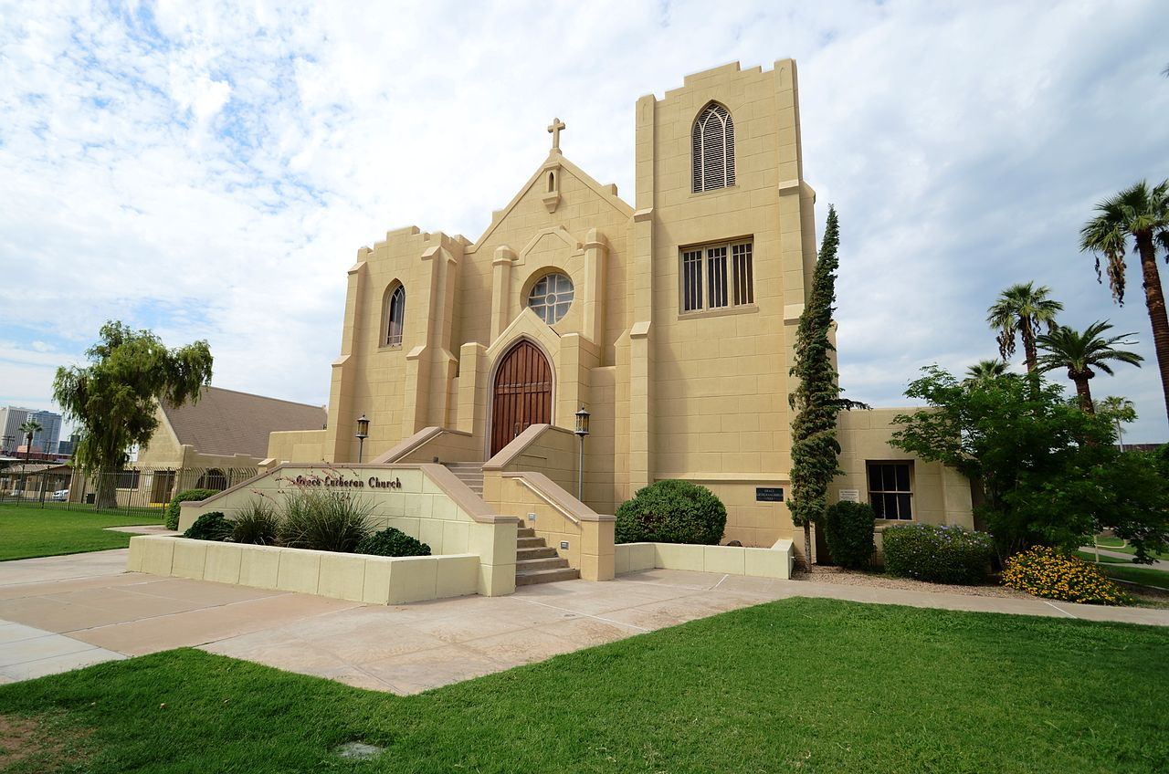 Grace Lutheran Church as it looks today.