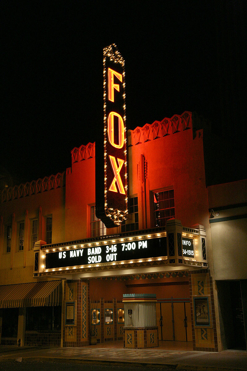 A view of the Fox in 2007.