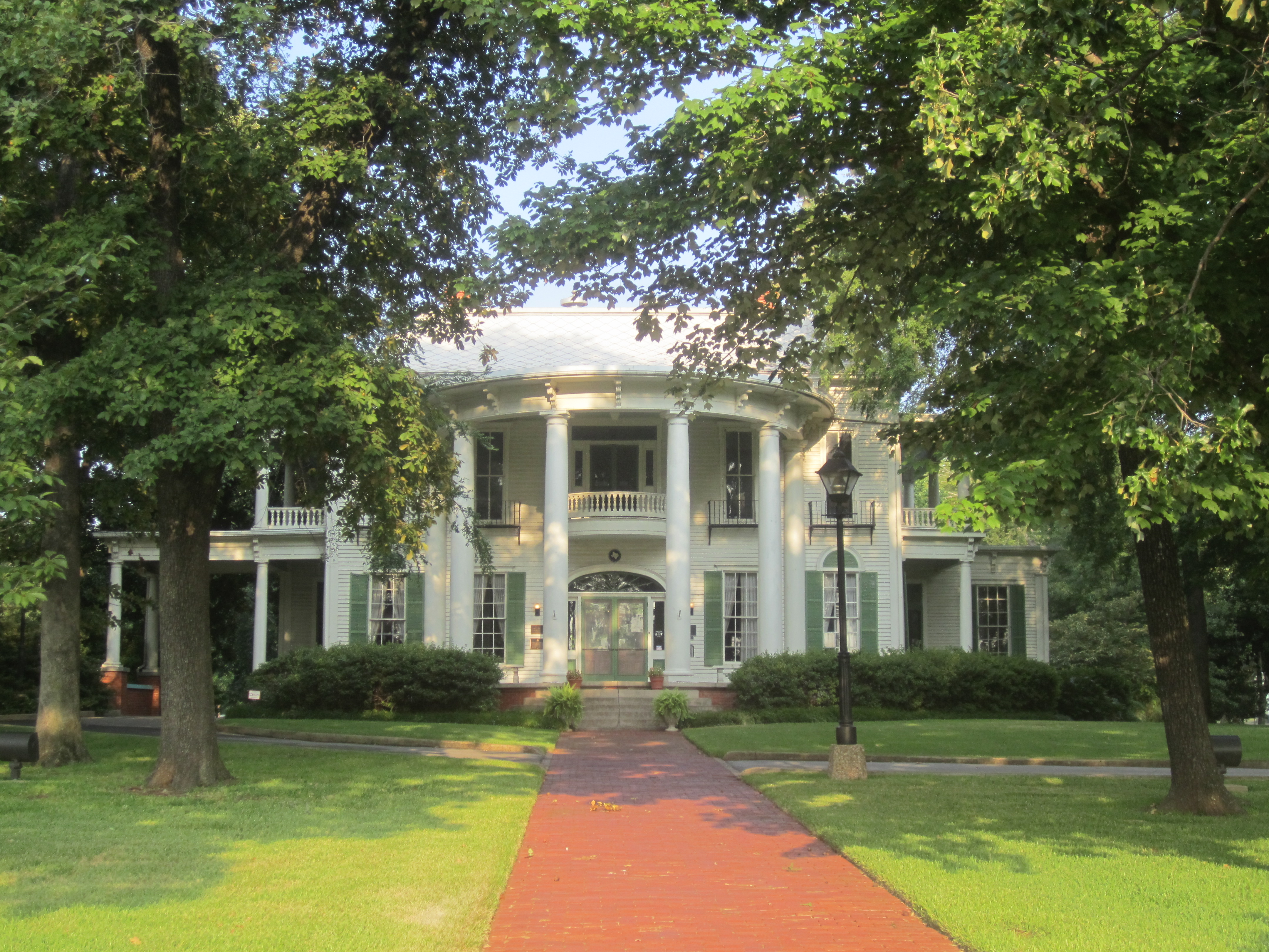 The Goodman-LeGrand House was built in 1859 is today a house museum.