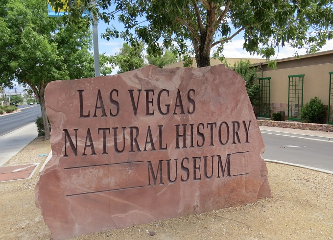 The Las Vegas Natural History Museum opened in 1991.