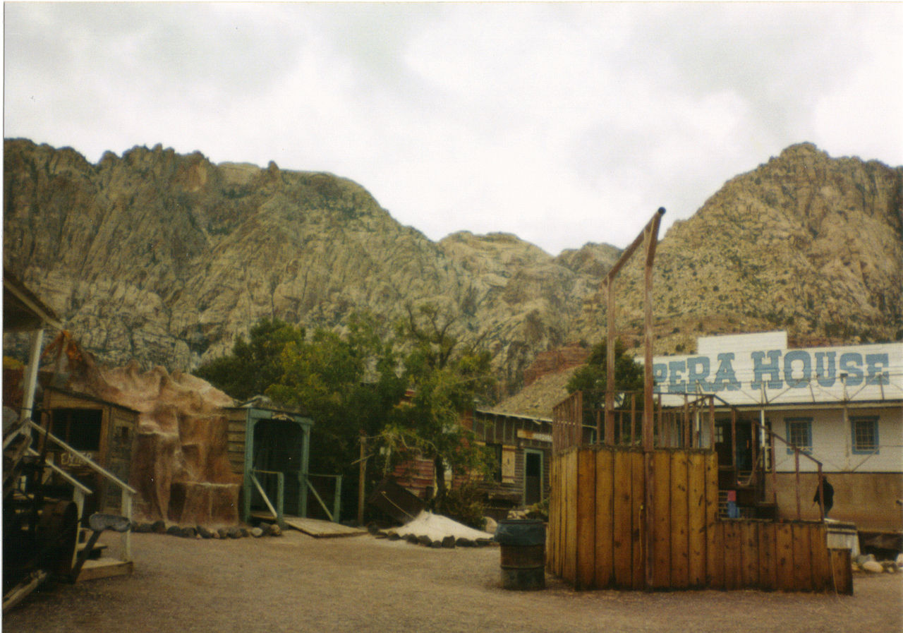 Part of the Old Nevada town attraction.