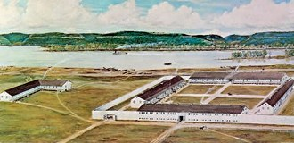 Painting of the second fort