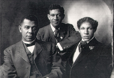 Booker T. Washington and sons