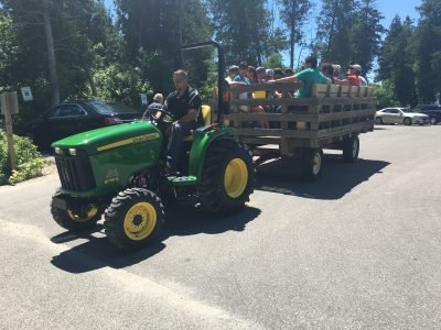 Hayrides to assist for viewers