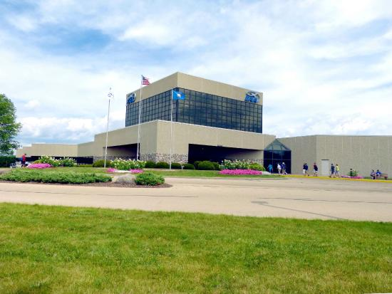 A view of the EAA AirVenture Museum.