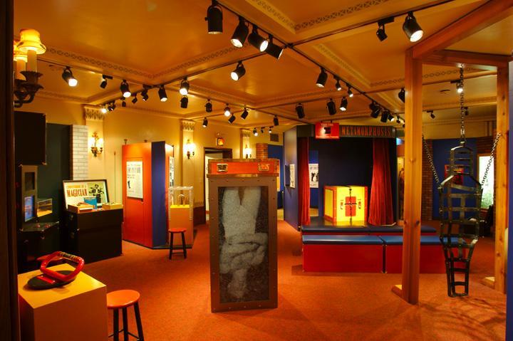 The Houdini exhibit