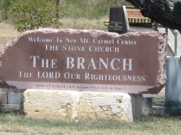 Current sign outside the Branch Davidian massacre site