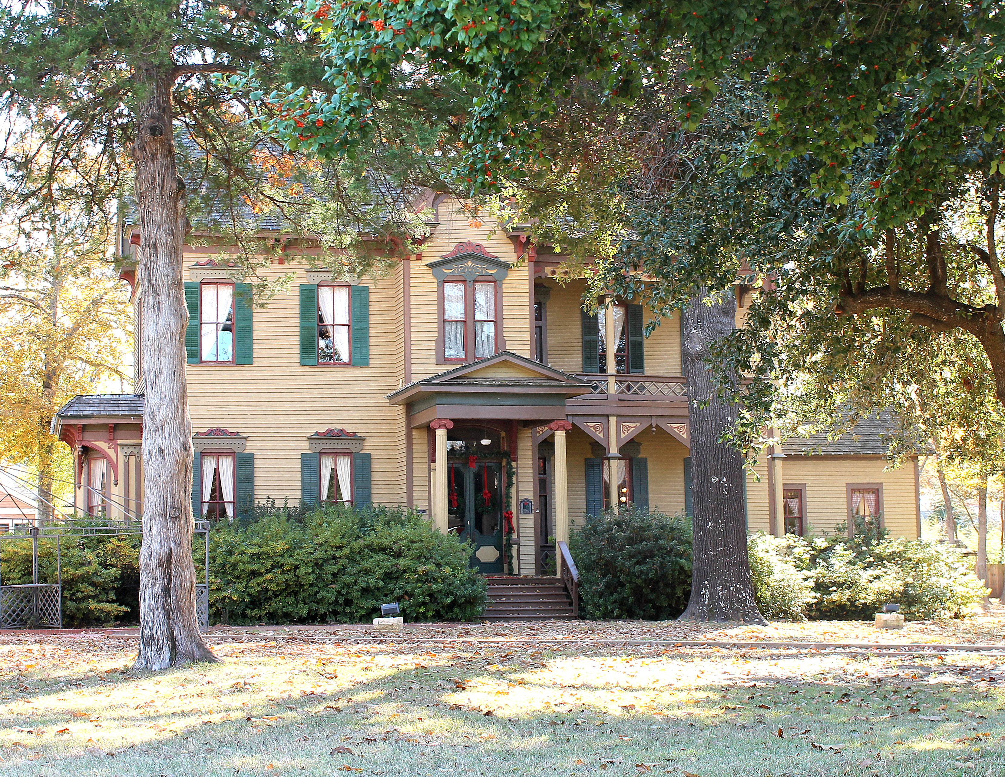 The Whitaker-McClendon House was built in 1880 and is an excellent example of Victorian architecture.