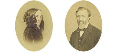 Elizabeth and Robert Browning