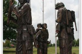 Arkansas Koran War Veterans Memorial (Photo courtesy of Little Rock CVB)
