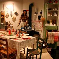The Czech Heritage museum includes a number of exhibits that show what life was like for many immigrants at the turn-of-the-century.