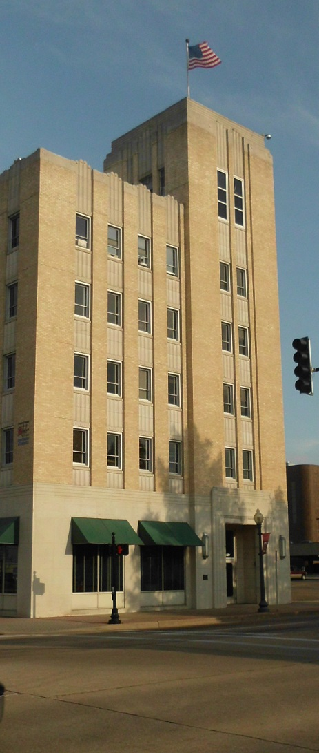 The Blackstone Building was built in 1939 and was added to the National Register of Historic Places in 2002.
