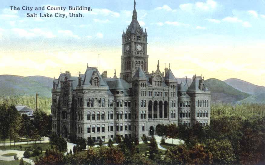 Colored postcard circa 1923