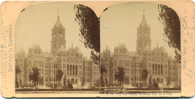 The City-County Building in 1897