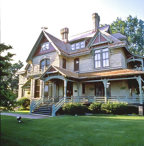 The Hearthstone Historic House Museum hosts ice cream socials and other events during the year.
