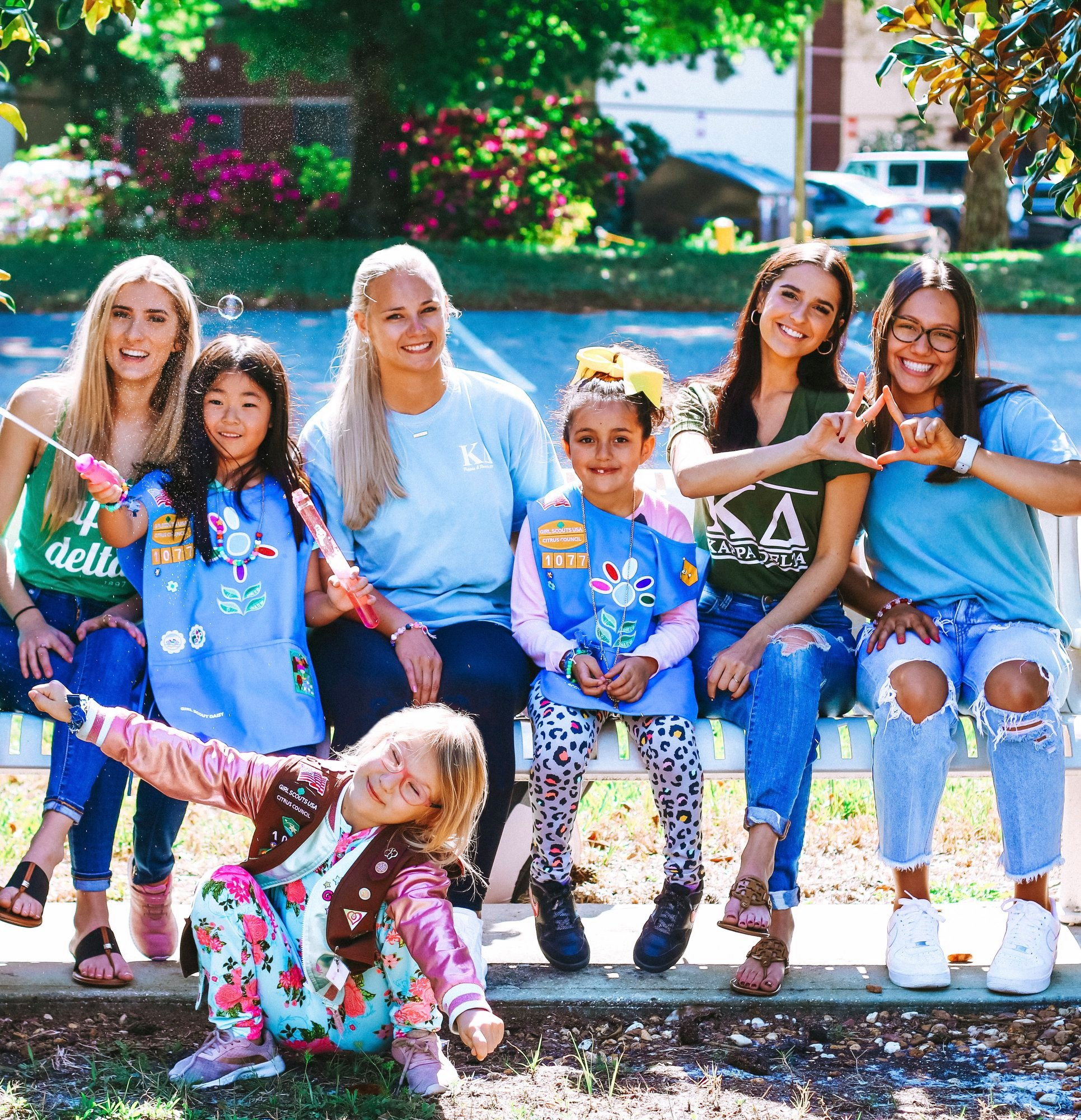 Kappa Delta Girl Scout Event