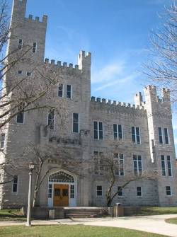 Cook Hall was built to resemble a castle due to governor John Altgeld's fascination with medieval history and architecture.