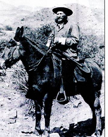 Gen. George Crook. Photo taken during the commencement of the Tonto Basin Campaign