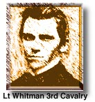 Lt. Royal Whitman. Commander of Camp Grant. Known for helping some of the Apache, he had to get word out that his garrison was not involved in the massacre. His protection of Apache's irritated the people of Tucson and surrounding area.