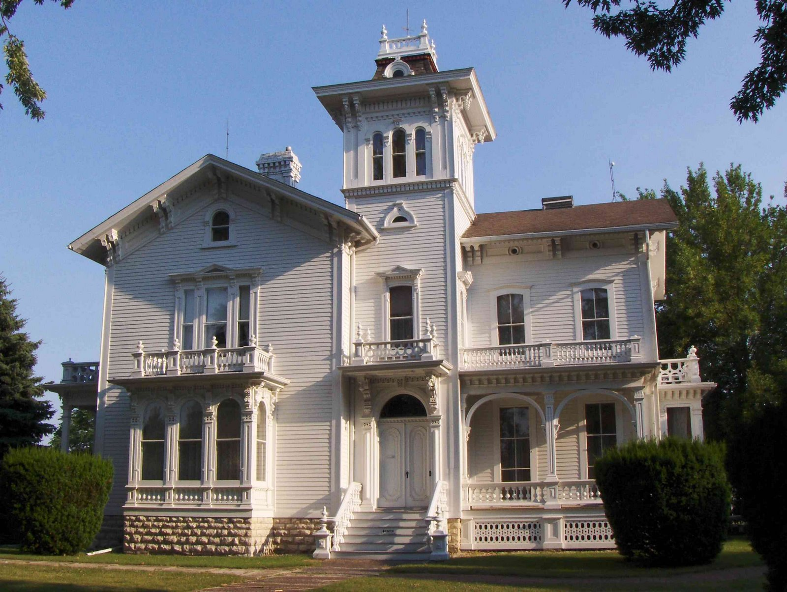 Galloway House front view