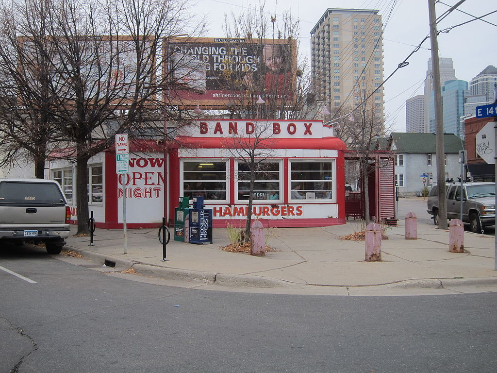 The last remaining restaurant in the Band Box chain, this diner has been a local favorite since that start of World War II.