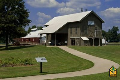Dortch Gin Building  (Photo courtesy of Arkansas State Parks)
