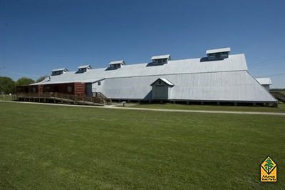 Seed Warehouse No. 5 (Photo courtesy of Arkansas State Parks)