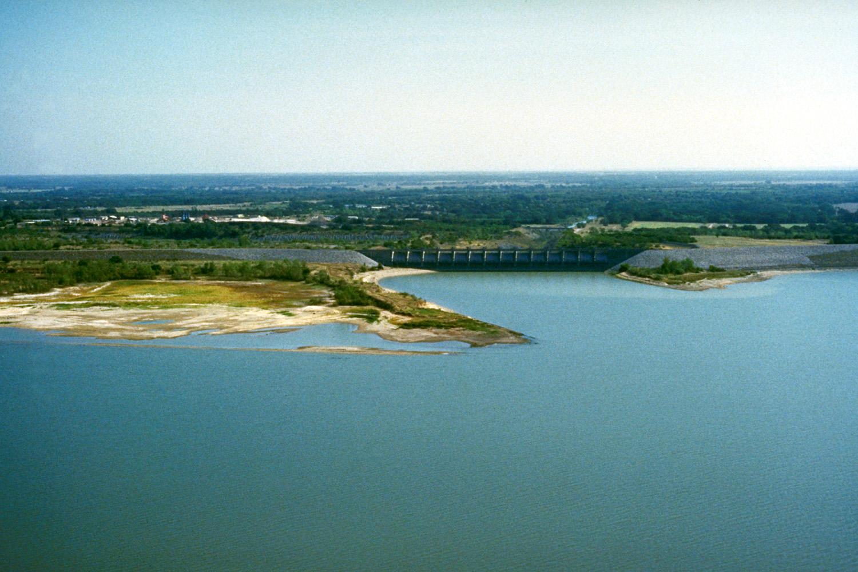 Lake Waco and Waco Dam