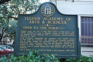 Telfair Academy Marker