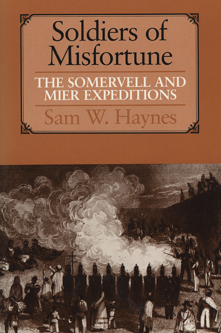 Learn more about the Somervell and Mier Expeditions? Sam Hayne's book from UT Press is the book of record-click the link below to connect with the publisher.
