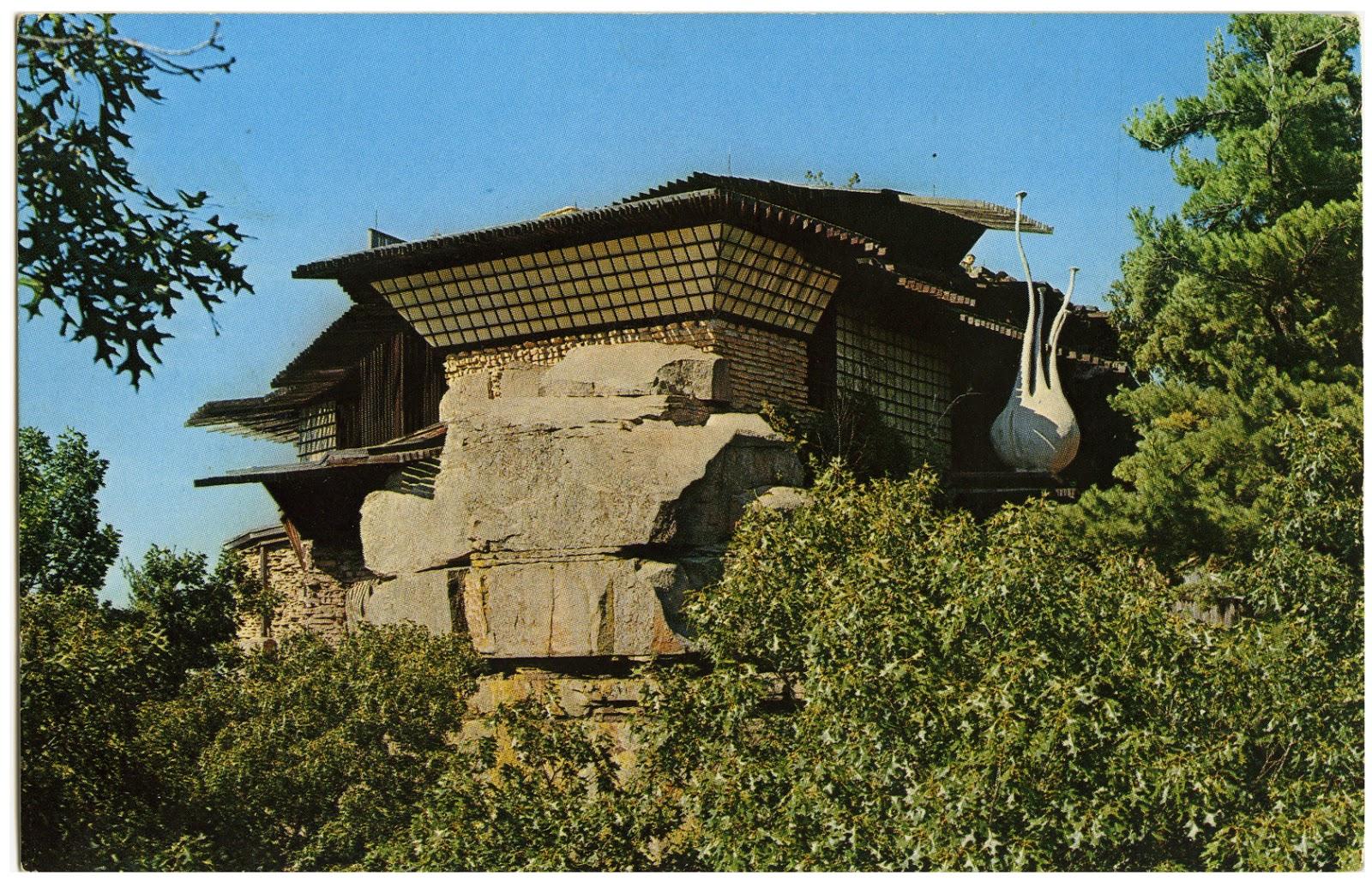 The House on the Rock, Jordan's former retreat house.