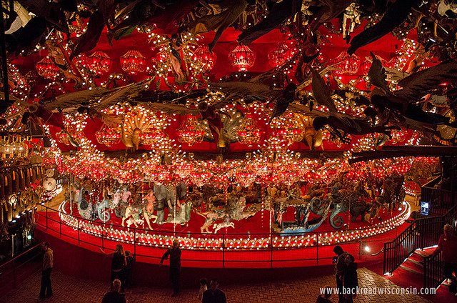 The world's largest carousel