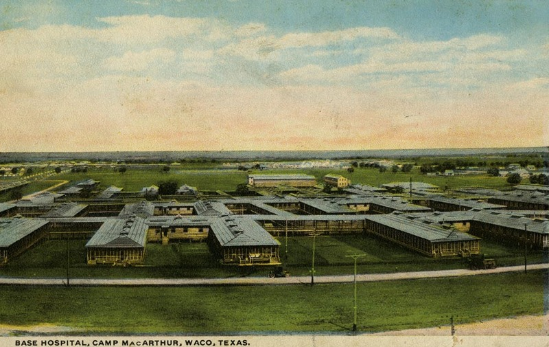 Base Hospital at Camp MacArthur