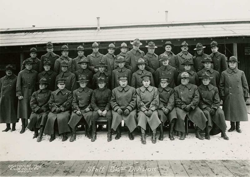 Staff of the 32nd Division