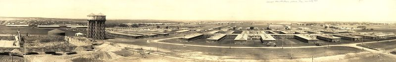 Panorama of the Camp in 1918