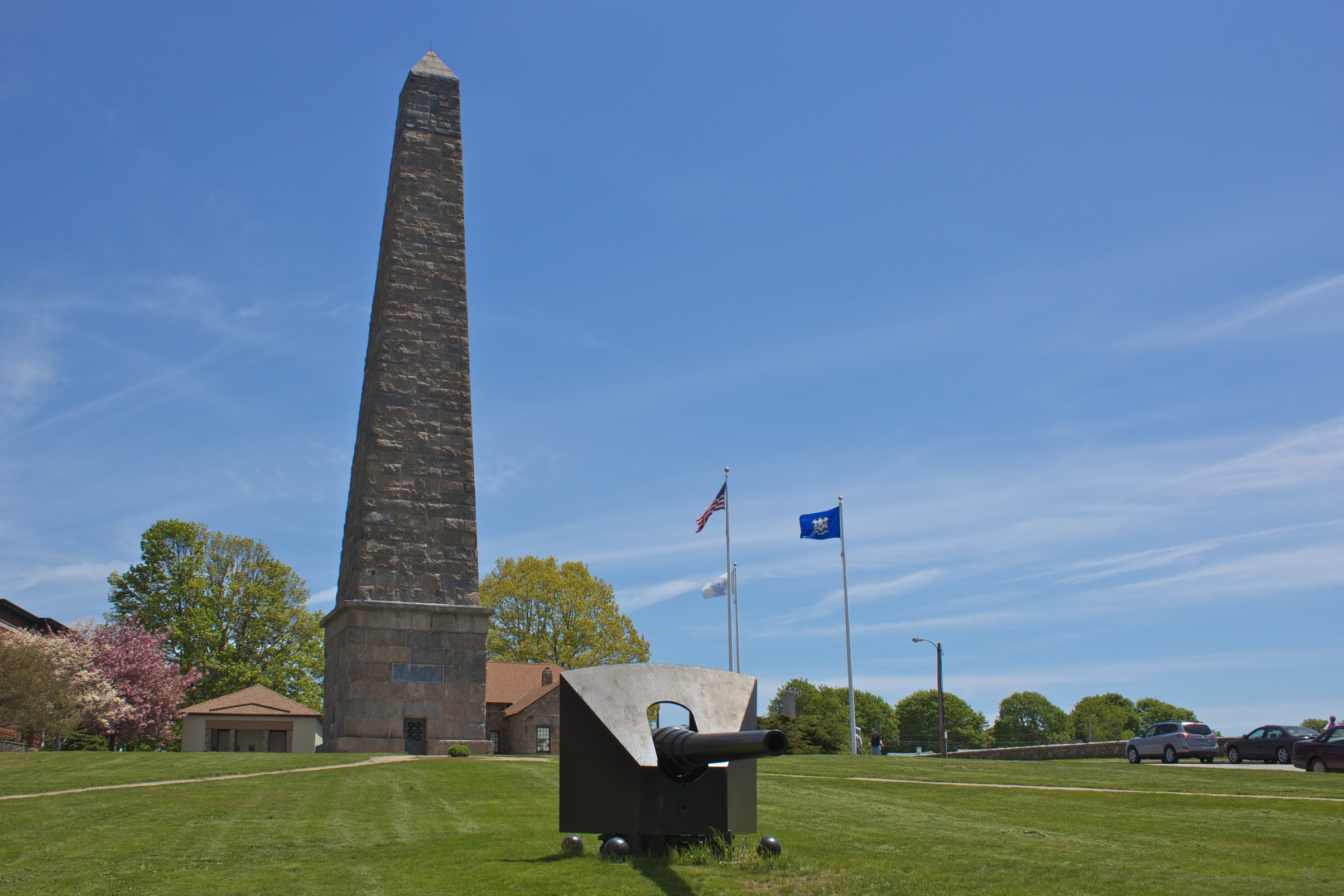 Groton Monument at the park