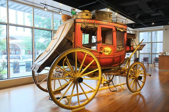 Wells Fargo History Museum Stagecoach