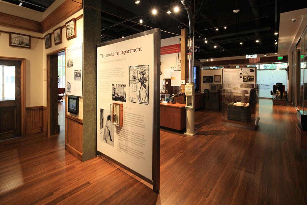 Wells Fargo History Museum Interior