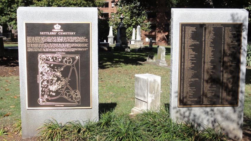 Old Settlers' Cemetery Information Plaques