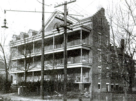 Old St. Peter's Hospital circa 1907