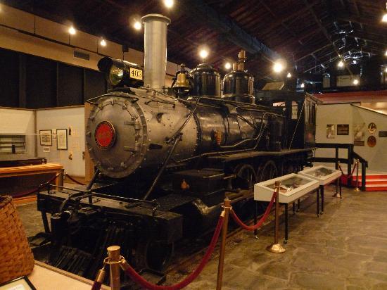 Rail engine exhibit