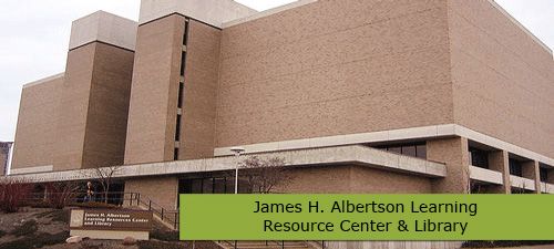 The museum is housed in the James H. Albertson Center for Learning.