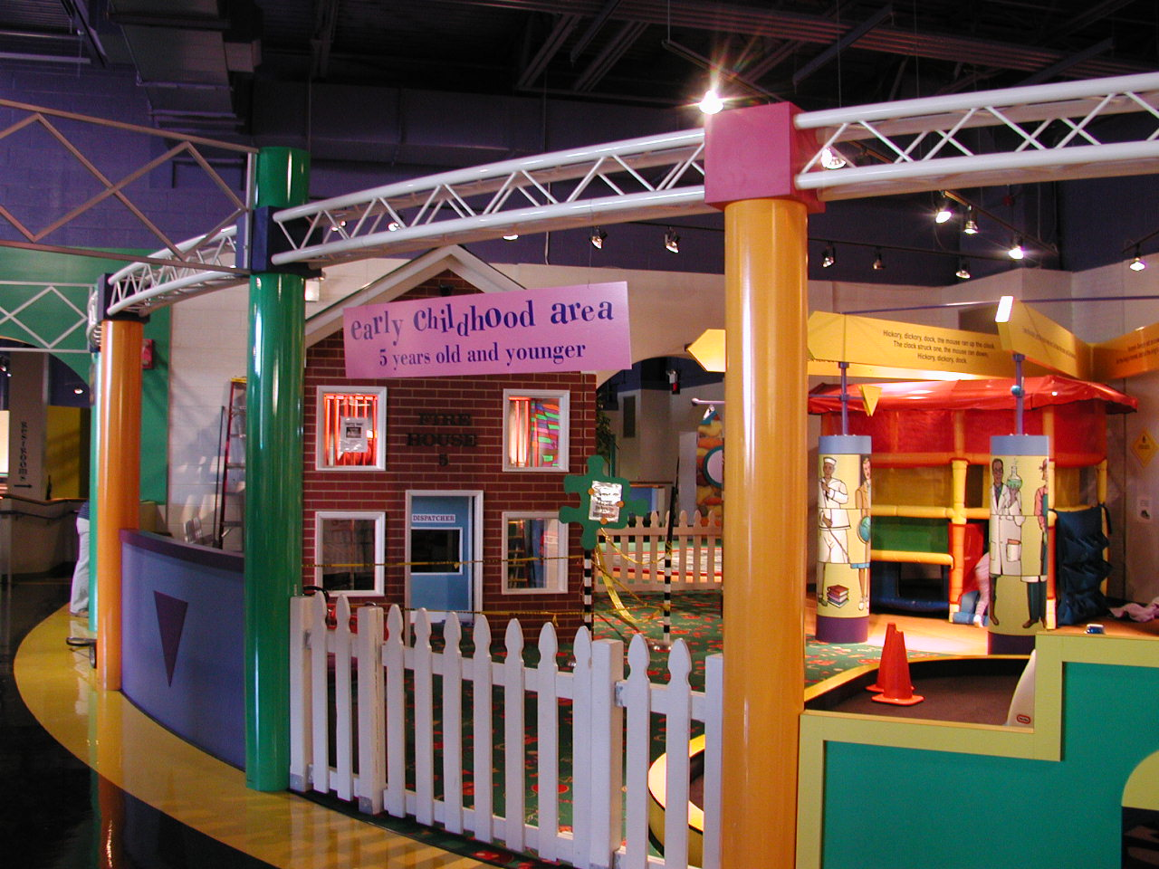 Greensboro Children's Museum Interior