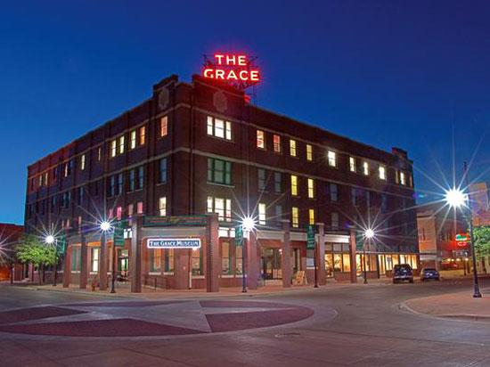 The museum is located in the former home of Hotel Grace. The building is listed on the National Register of Historic Places and the museum has earned the prestigious honor of accreditation from the American Alliance of Museums.