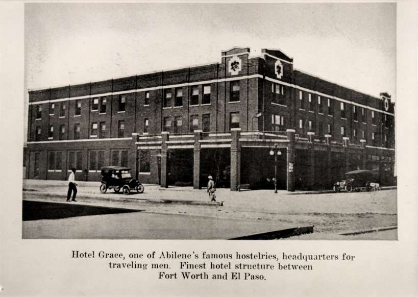 Hotel Grace in the 1930s.