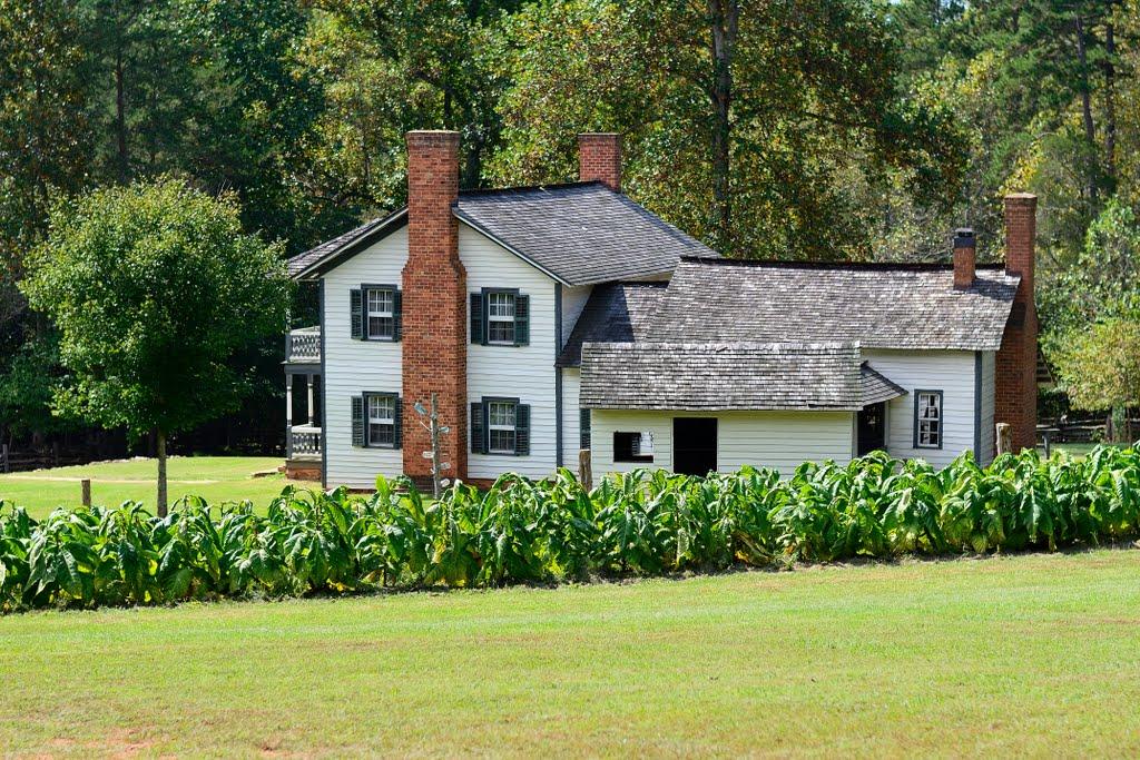 Horne Creek Living Historical Farm Farmhouse